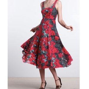 Anthropologie Noisette Dress